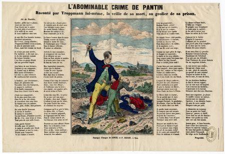 L'Abominable crime de Pantin raconté par Troppmann lui-même