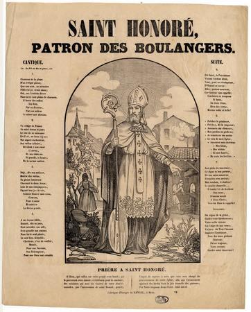 Saint Honoré patron des boulangers