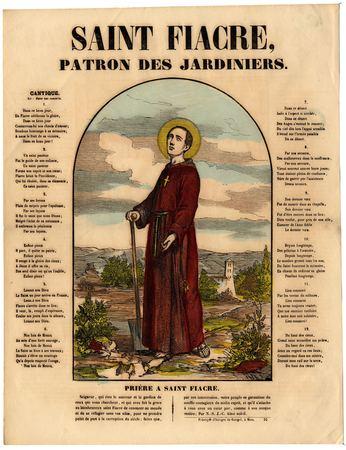 Saint Fiacre : patron des jardiniers