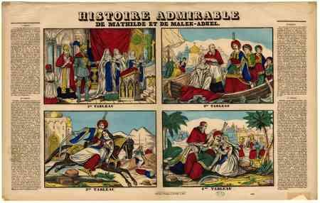 Histoire admirable de Mathilde et de Malek-Adhel