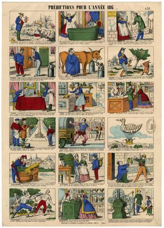 Prédictions pour l'année 186...