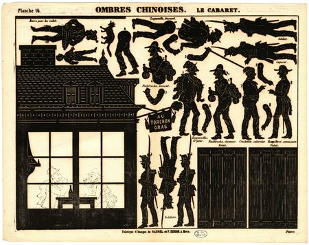Ombres chinoises : le cabaret