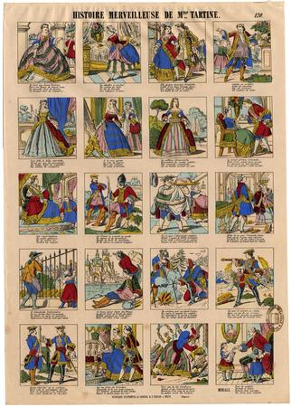 Histoire merveilleuse de Madame tartine
