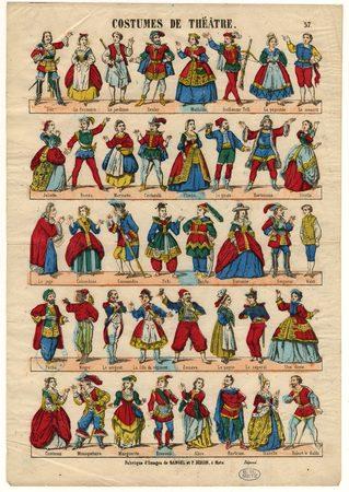 Costumes de théâtre