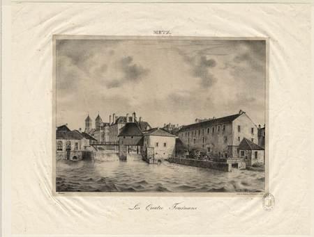 Metz : les quatre tournans