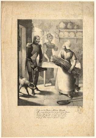 Le Bonsoir dit Maurice à madame Heurlin