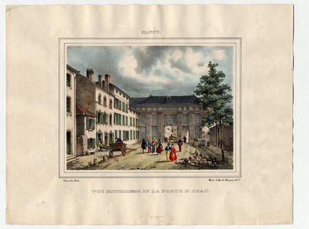 Nancy : vue extérieure de la porte Saint Jean