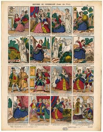 Histoire de Cendrillon : conte des fées