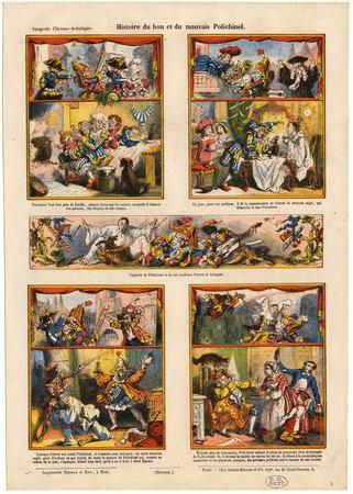 Histoire du bon et du mauvais Polichinel