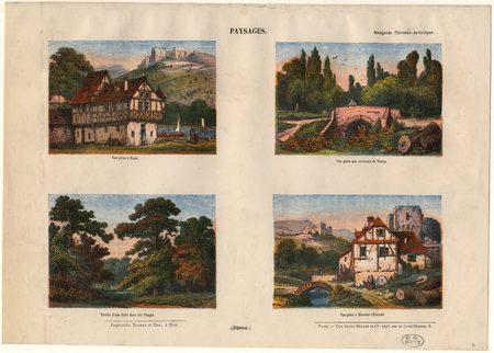 Paysages : Bade, Nancy, Vosges, Munster