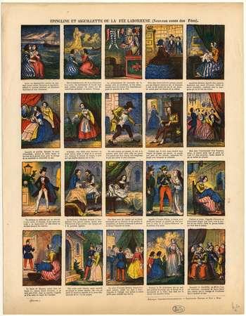 Epingline et Aiguillette ou la fée laborieuse : nouveau conte des fées