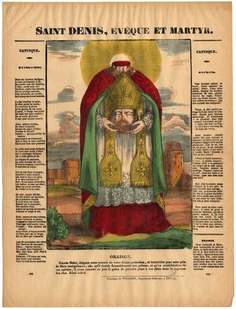 Saint Denis : évêque et martyr