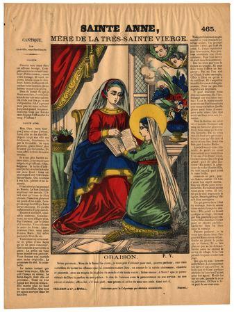 Sainte Anne : mère de la très Sainte Vierge