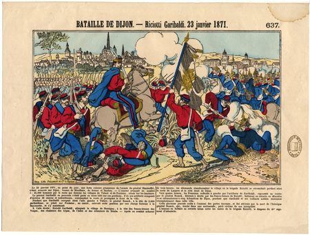 Bataille de Dijon : Riciotti Garibaldi - 23 janvier 1871