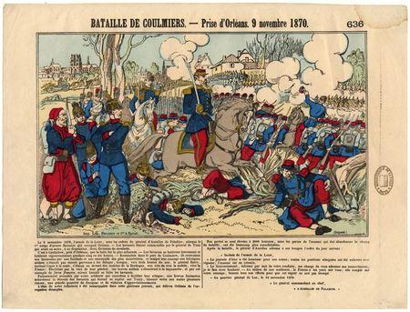 Bataille de Coulmiers : prise d'Orléans - 9 novembre 1870