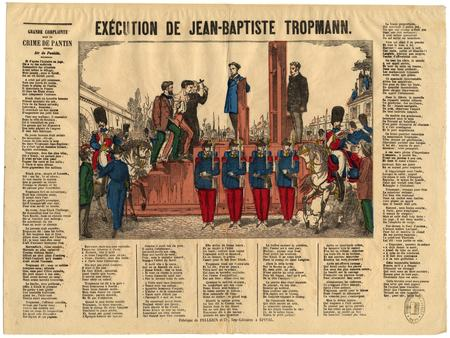 Exécution de Jean-Baptiste Tropmann