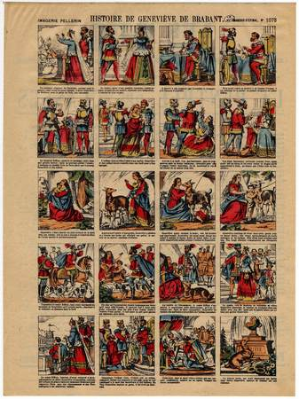 Histoire de Geneviève de Brabant