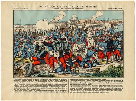 Bataille de Gravelotte (16 août 1870): Les charges de cavalerie