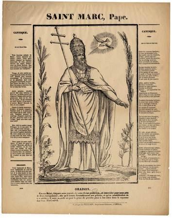 Saint Marc, Pape