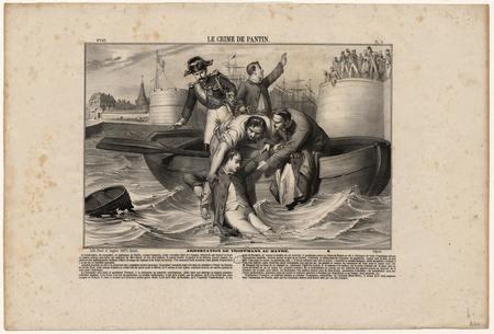 Le crime de Pantin, arrestation de Troppmann au Havre