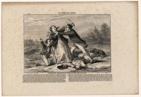Le crime de Pantin, Troppmann assassine Mme Kinck et ses cinq enfants