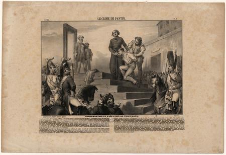 Le crime de Pantin, condamnation et exécution de Troppmann
