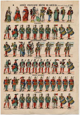 Armée française règne de Louis XI