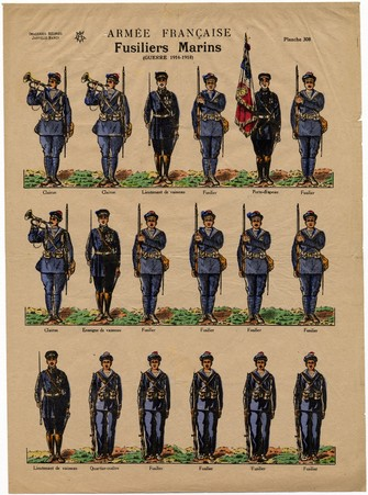 Armée français: fusilliers marins (guerre 1914-1918)