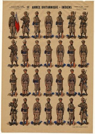 Armée britannique: Indiens