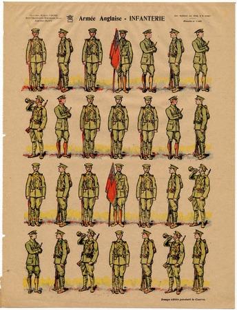 Armée anglaise - Infanterie