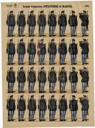 Armée française. Infanterie de Marine