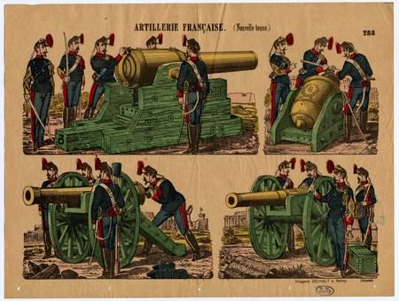 Artillerie française (nouvelle tenue)