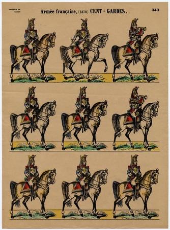 Armée française, (1870) Cent-Gardes