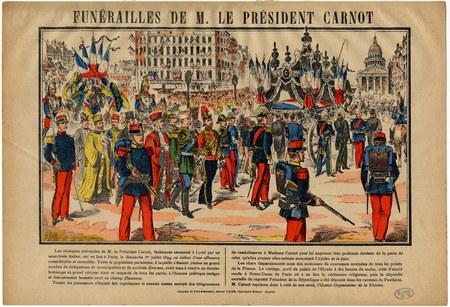 Funérailles deM. Le Président Carnot