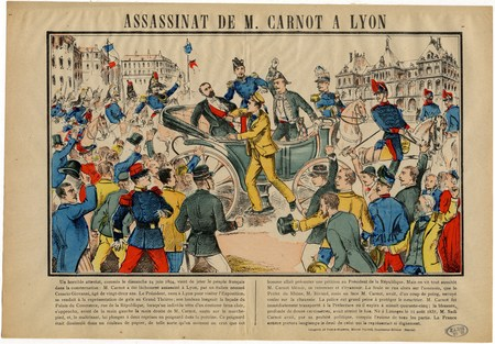 Assassinat de M. Carnot à Lyon