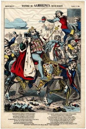 Histoire de Gambrinus. Roi de Brabant