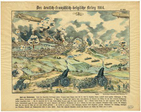 Der deutsch-französisch-belgische Krieg 1914