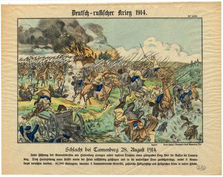 Deutsch-russischer Krieg 1914