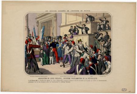 Les grandes journées de l'Histoire de France (abdication de Louis-Philippe…