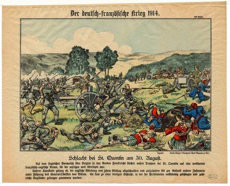 Der deutsch-französische Krieg 1914 – Schlacht bei St. Quentin am 30. Augu…