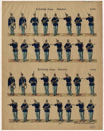 Holländische Armee. Infanterie