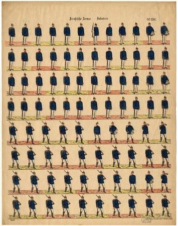 Preussische Armee. Infanterie