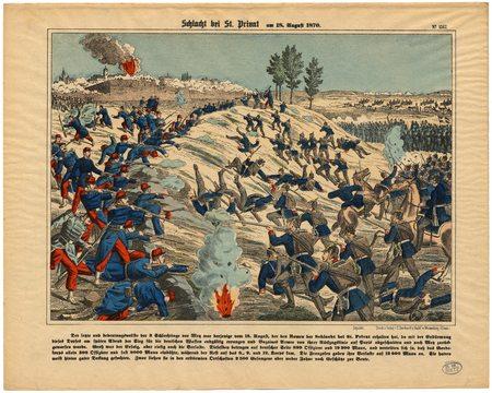 Schlacht bei St. Privat am 18. August 1870