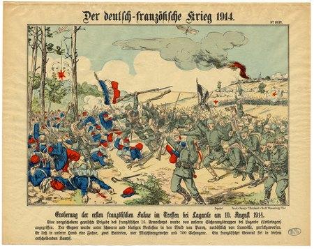 Der deutsch-französische Krieg 1914