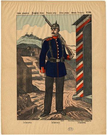 Armée prussienne. Infanterie – Preussische Armee. Infanterie – Prussian ar…
