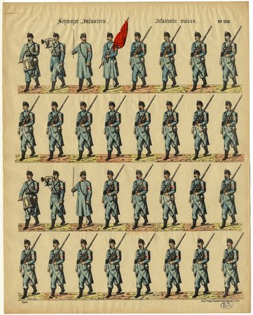 Schweizer Infanterie – Infanterie suisse