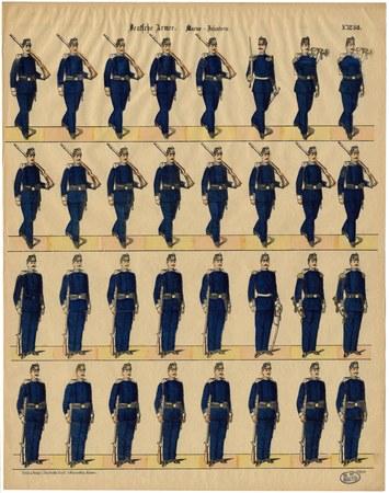 Deutsche Armee. Marine – Infanterie