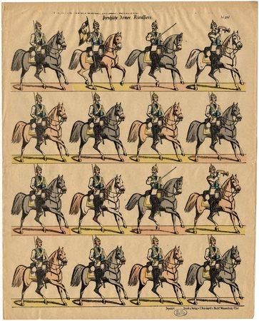 Preussische Armee. Kürassiere