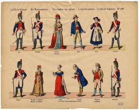 La fille du Régiment – Die Regimentstochter – The daughter any regiment – …