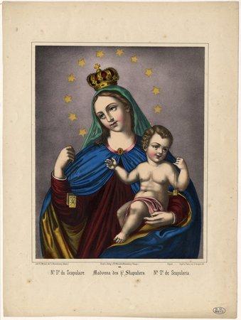 Ne De du Scapulaire – Madonna des hl Skapuliers – Na Sa de Scapularia